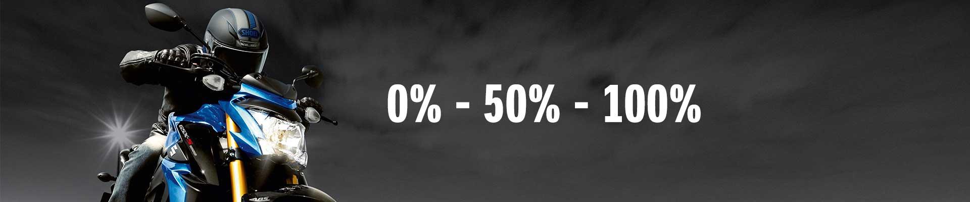0% Zinsen | 50% Preis* | 100% Fahrspaß
