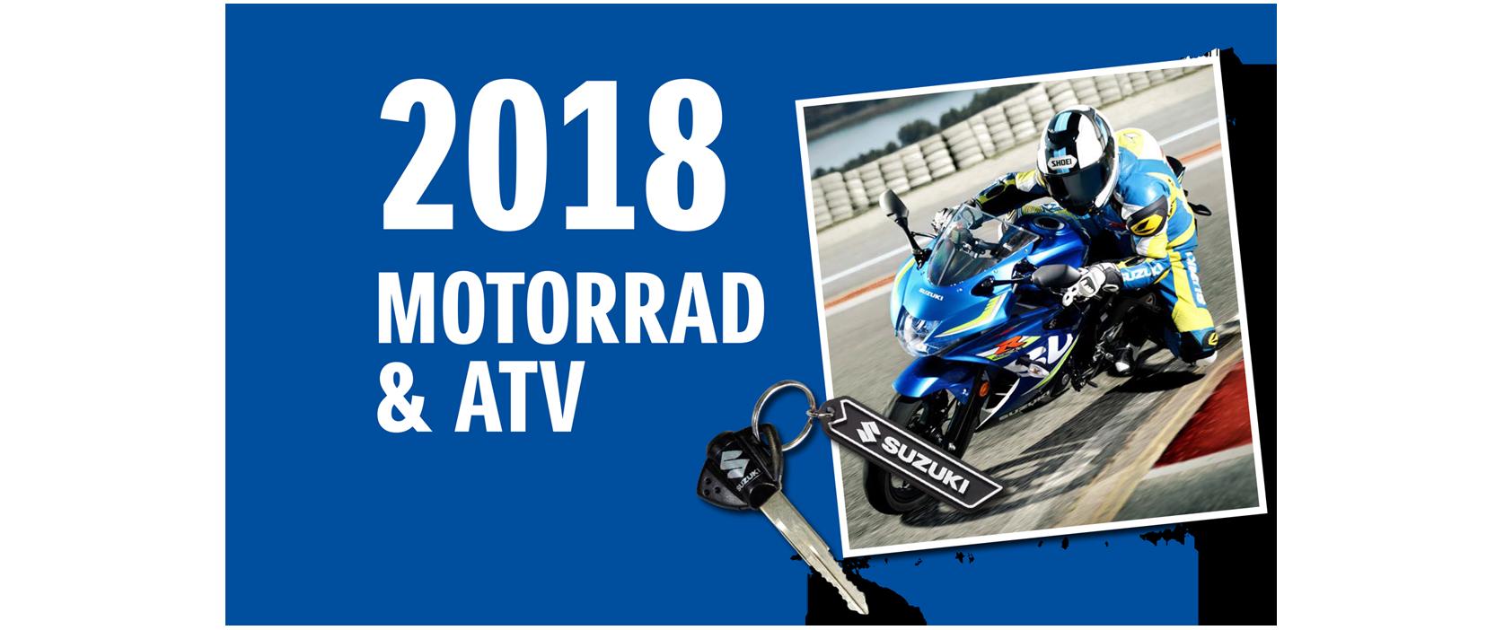 Suzuki Motorrad Modelle 2018/ 2019