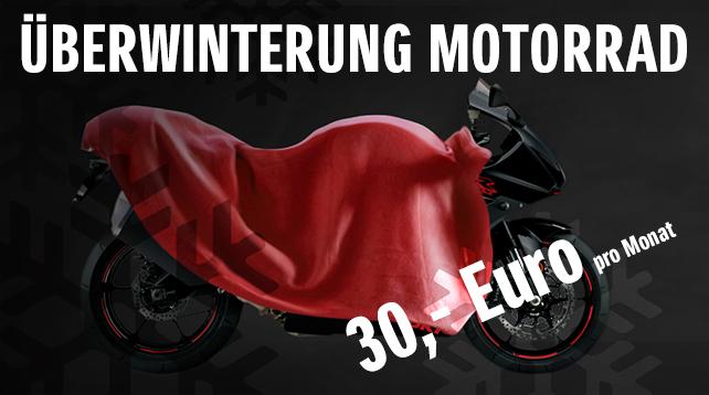 Überwinterung Motorrad
