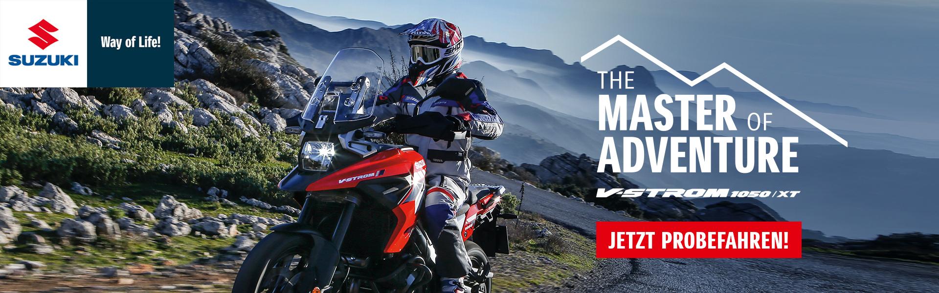 Suzuki Probefahren, Probrfahrt Motorrad