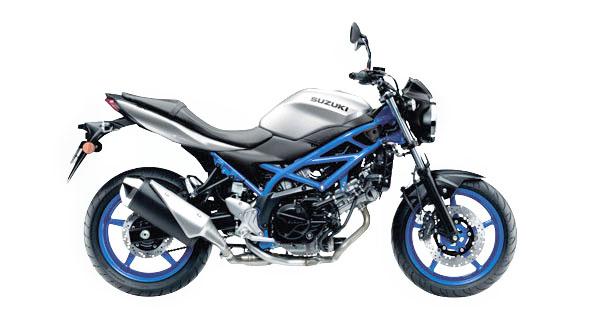 Motorradmodell für die Fahrschule